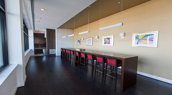 2m street apartments: DC Apartments: DC Rentals: Amenity Space: Skyline Cafe