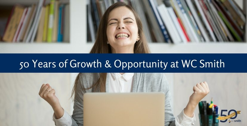 50 Years of Growth & Opportunity at WC Smith
