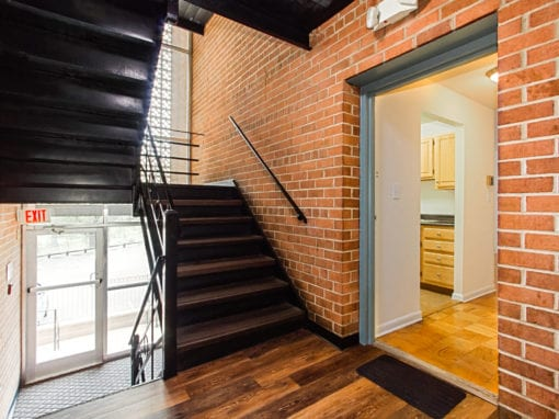 Chillum Place-NE-DC-Apartments-Stairwell