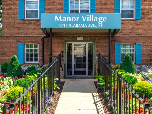 Manor Village-Affordable-Southeast-Rental-Exterior-signage